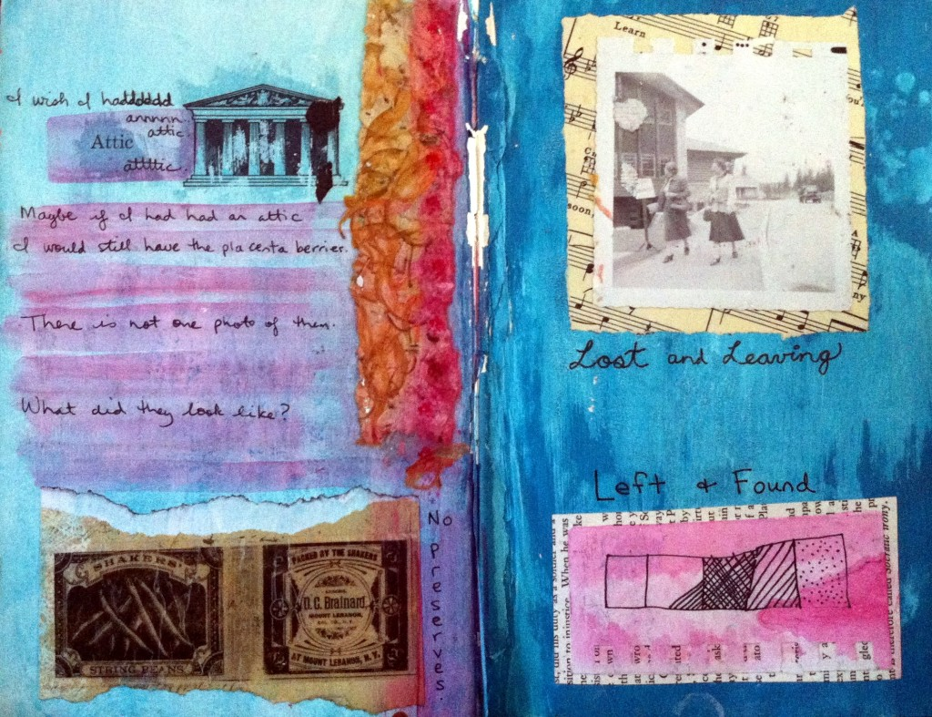 "from my ""Words mean things"" altered book"